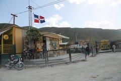 Hatian e beira da República Dominicana imagem de stock royalty free