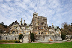 Hatley castle Royalty Free Stock Photos