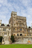 Hatley castle Stock Image