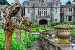 Hatley castle Royalty Free Stock Photos