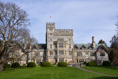Hatley Castle, Colwood, British Columbia. Hatley castle (built in 1908), Colwood Vancouver Island, British Columbia, Canada Stock Images