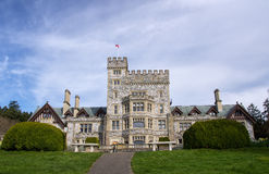 Hatley Castle, Colwood, British Columbia. Hatley castle (built in 1908), Colwood Vancouver Island, British Columbia, Canada Stock Image