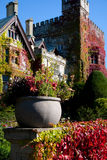 Hatley Castle and grounds, Victoria, BC Stock Photography