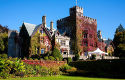 Hatley Castle and grounds, Victoria, BC Royalty Free Stock Photos