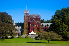 Hatley Castle and grounds, Victoria, BC Royalty Free Stock Photo