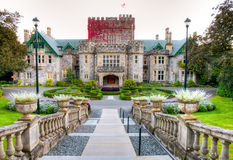 Hatley Castle and grounds, Victoria, BC Royalty Free Stock Images