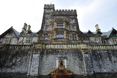 Hatley castle in vancouver island Royalty Free Stock Photography