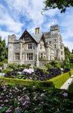 Hatley castle, Victoria, Canada. Hatley castle garden in Victoria, Canada Royalty Free Stock Photos