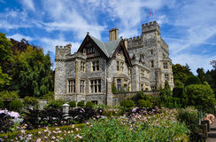 Hatley slott i Victoria Arkivfoton