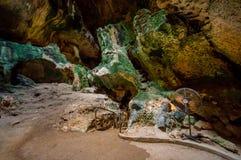 HATO, CURAÇAO - 2 DE NOVIEMBRE DE 2015: Cuevas de Hato Fotos de archivo libres de regalías