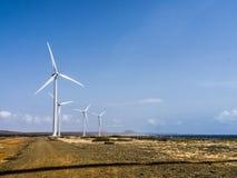 Hato Plains turbinas eólicas Imagens de Stock Royalty Free