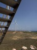 Hato Plains wind turbines Royalty Free Stock Photo