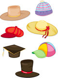 Hats. Illustration of a hats on a white background vector illustration