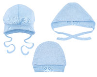Hats for babies Stock Image