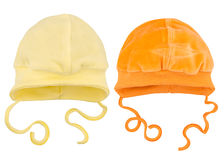 Hats for babies Royalty Free Stock Images