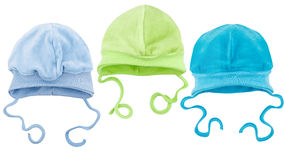 Hats for babies Royalty Free Stock Photos
