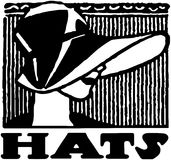 Hats Banner Stock Photo