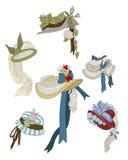 Hats stock illustration