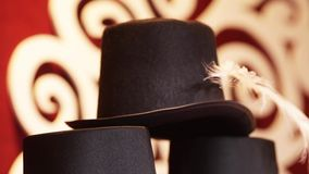 Hats stock footage