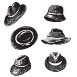 Hats Collection Royalty Free Stock Photo