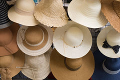 Hats fashion. Background for Advertise Stock Images