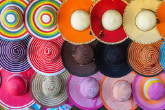 Hats grouped Stock Photography
