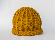 Hats knitting handmade Royalty Free Stock Photography