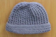 Hats knitting handmade Stock Photos