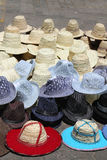 Hats, lots of hats Royalty Free Stock Photos