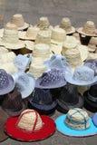 Hats, lots of hats Royalty Free Stock Photos