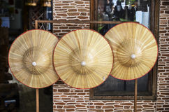 Hats made of natural materials Stock Photos