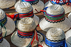 Hats for mens traditional romanian-2 Stock Photos
