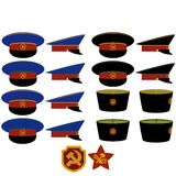 Hats RCM RSFSR Royalty Free Stock Images