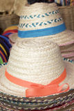 Hats  for sale at the market Stock Photos