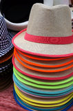 Hats for sale. Stock Images