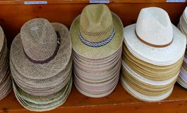 Hats for sale Stock Photos