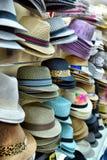 Hats showcase Royalty Free Stock Photos