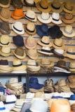Hats store Royalty Free Stock Photo