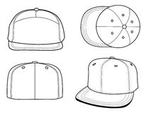 Hats templates Royalty Free Stock Photo