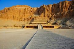 hatschepsut świątyni thebes obraz royalty free