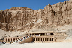 Hatsepsut temple, Egypt Royalty Free Stock Image