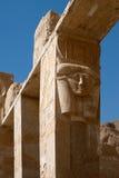 Hatshepsut寺庙,埃及 免版税库存照片