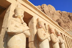 Hatshepsut寺庙 免版税图库摄影