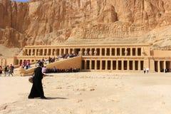 Hatshepsut寺庙 免版税库存照片