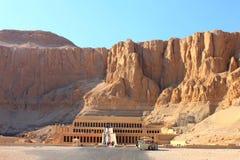 Hatshepsut świątynia fotografia royalty free