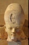 Hatshepsut head in temple near Luxor in Egypt Royalty Free Stock Image