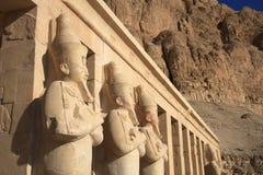 hatshepsut królowej świątynia zdjęcie royalty free