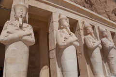 Egyptian Temple Hatshepsut Stock Photos