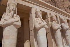 Egyptiskt tempel Hatshepsut arkivfoton