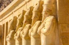 Hatshepsut Mortuary Temple, Luxor, Egypt Royalty Free Stock Images